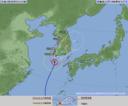 気象庁の台風情報